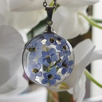 Forget Me Not  - ketting