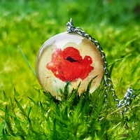 Poppy Blooming – ketting