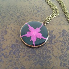 Pretty Pink Flower – ketting