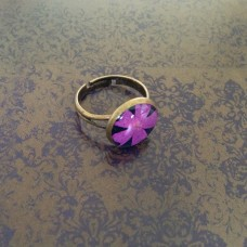 Pretty Pink Flower - ring