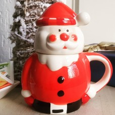 Santa Tea For One Cup