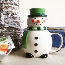 SnowmanTea For One Cup